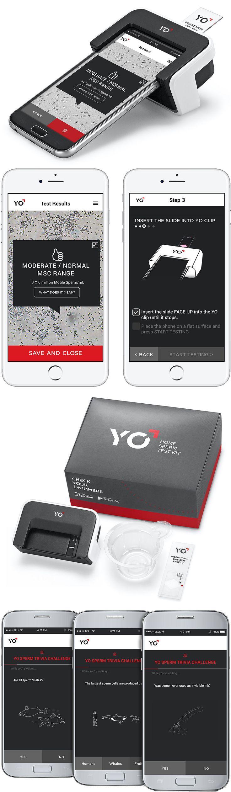 Pregnancy Tests: Yo At Home Motile Sperm Test For Galaxy S6   Male Fertility Test Semen Analysis -> BUY IT NOW ONLY: $49.95 on eBay!