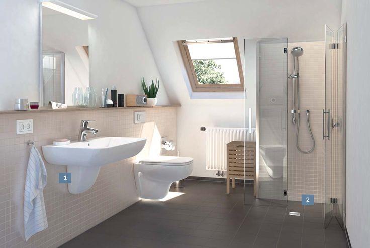 Gør det selv badeværelse - Find inspiration her >>