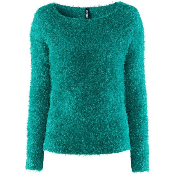 H&M Jumper (485 CZK) ❤ liked on Polyvore featuring tops, sweaters, jumper, h&m, shirts, turquoise, h&m shirts, extra long sleeve shirts, blue jumper and long sleeve shirts