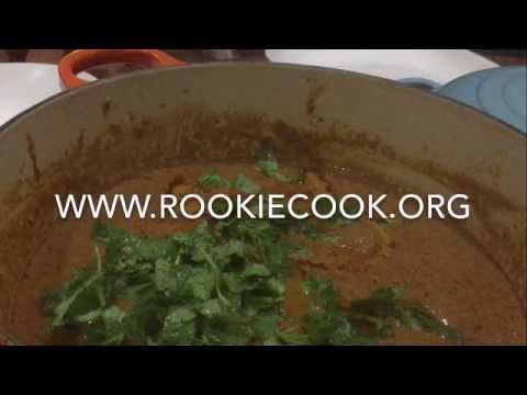 Beef Rogan Josh - Rookie Cook
