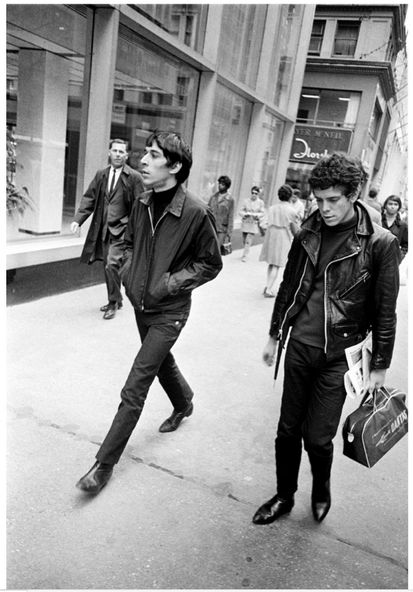 John Cale & Lou Reed, 1968.