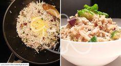Gebratener Low-Carb Blumenkohl-Reis mit Gemüse (Fried Rice)