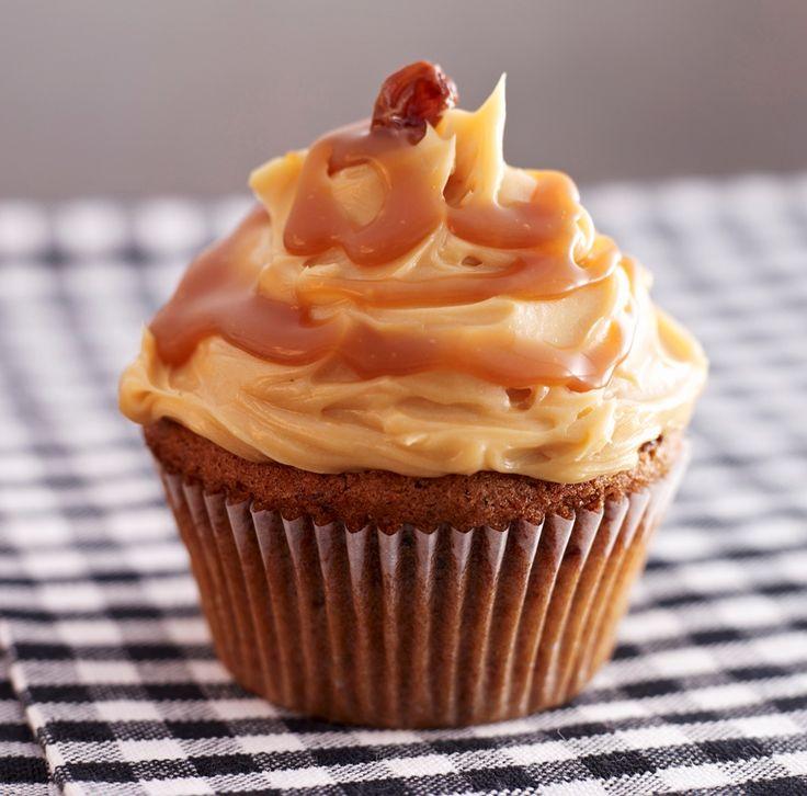 Caramel Cupcakes Recipe   BakingMad.com
