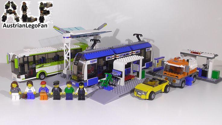 Lego City 8404 Public Transport Station / Grosse Bus und Tramstation - L...