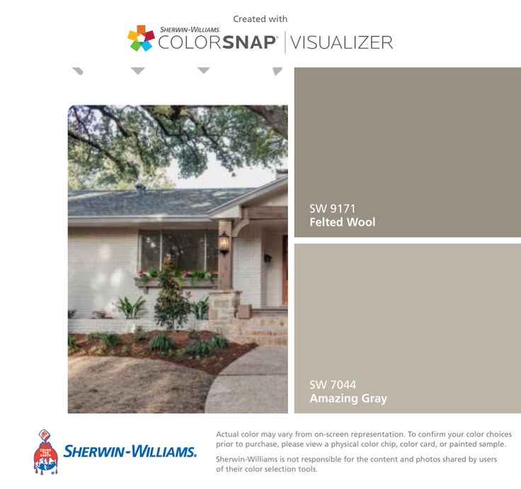 25 best ideas about sherwin williams amazing gray on pinterest sherwin william williams and for Sherwin williams exterior paint color visualizer