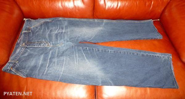 Как перекрасить темно синие джинсы