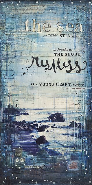 Young Heart by Mae Chevrette, via Flickr love her work.
