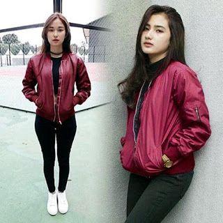 Grosir Kaos Jaket Celana Distro Bandung: GROSIR JAKET BOMBER CEWEK