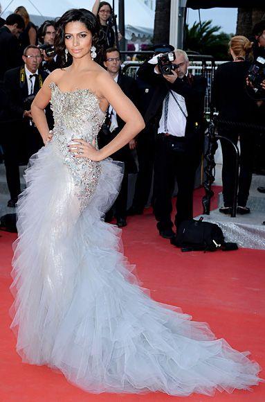 Cannes Film Festival 2012: Camila Alve wearing a Marchesa gown.