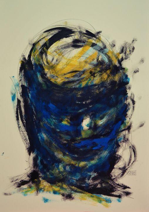 Woman 02 - Michele Petrelli Painter #art #artpal
