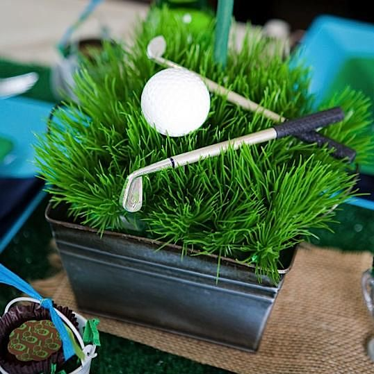 Father's Day Golf Par-Tee - Kara's Party Ideas - The Place