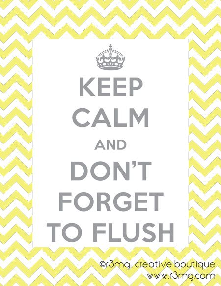 printables forget to flush free printable for bathroom wall - Free Printable Bathroom Art