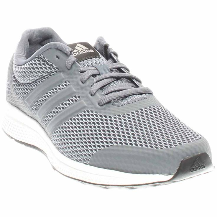 adidas Performance Men's Mana Bounce M Running Shoe, Grey/Metallic Silver/ Black,