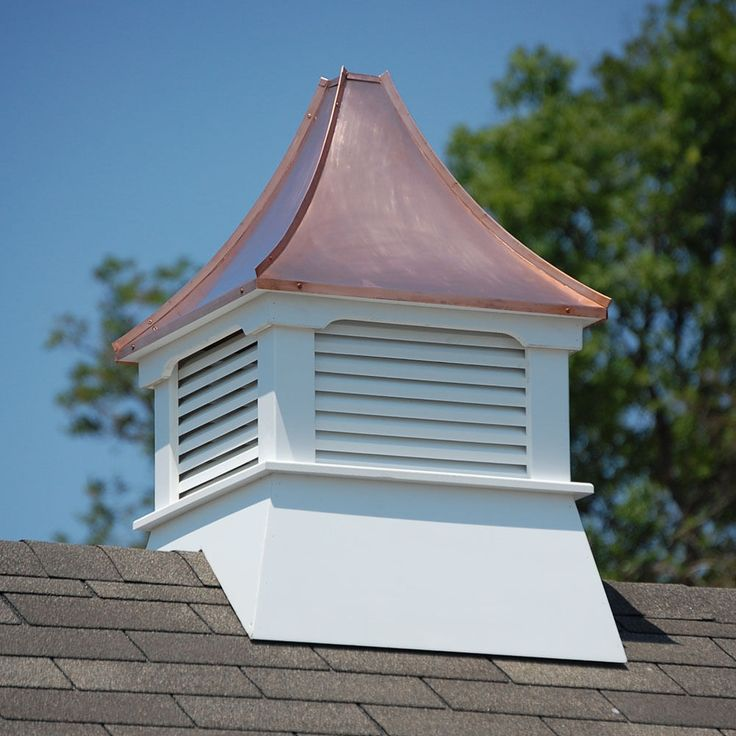 Details about Accentua Olympia Vinyl Cupola with Copper