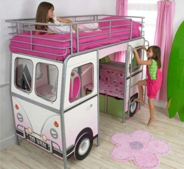 Letti per bambini a forma di macchina - Letto macchina per bambine