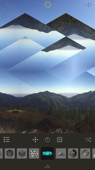 Fragment - Geometric Photo Editing, Mirror and Kaleidoscope Effects   Pixite LLC  사진 꾸미기 변형
