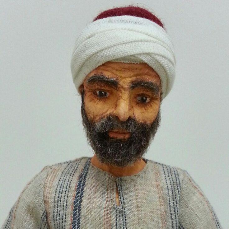 Kitre Bebek (hand made doll) By Naciye Aksakaloğlu