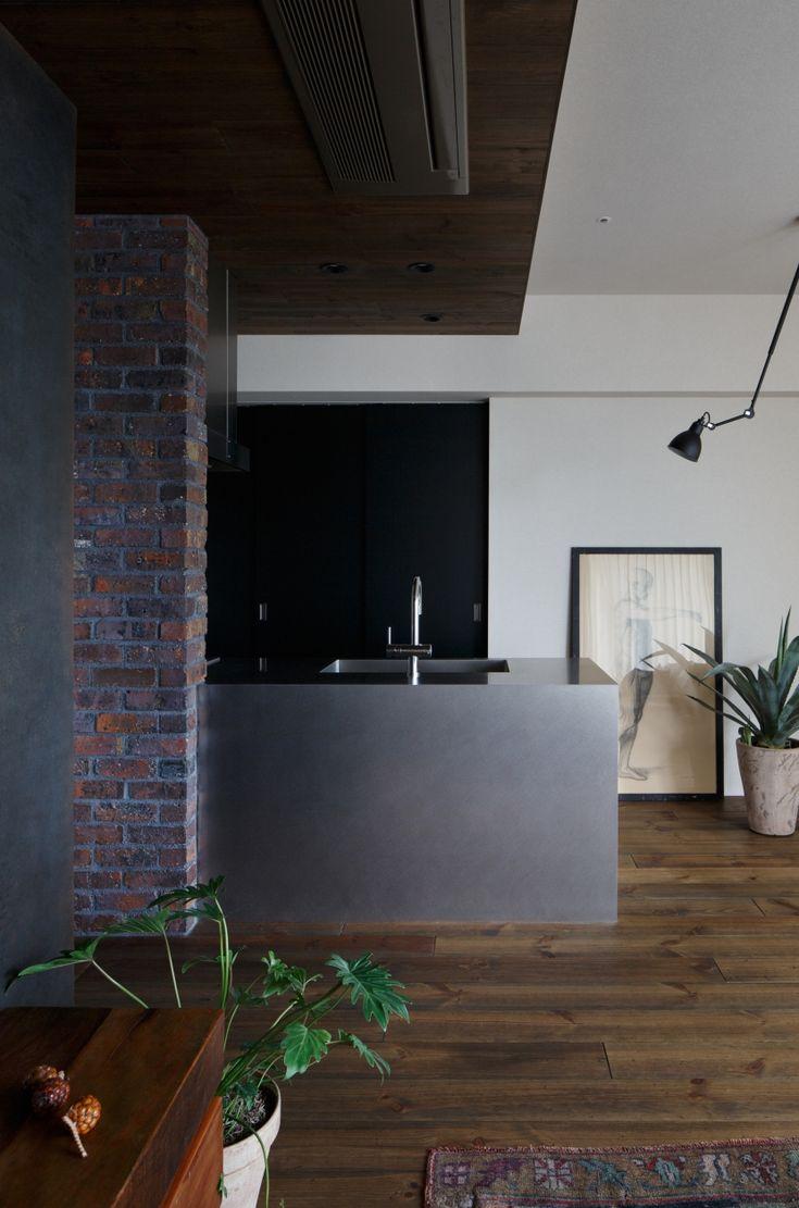 キッチン事例:キッチン(上品なラフ空間)