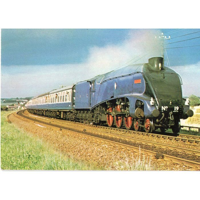 Dennis Postcard Railway Series D214 LNER A4 Class 4-6-2 Bittern No 60019 Listing in the Rail,Transportation,Postcards,Collectables Category on eBid United Kingdom | 148945820