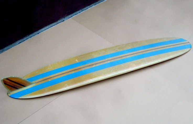 BEACH BOYS Original Surfboard Belonging To DENNIS WILSON As Seen On PAWN STARS