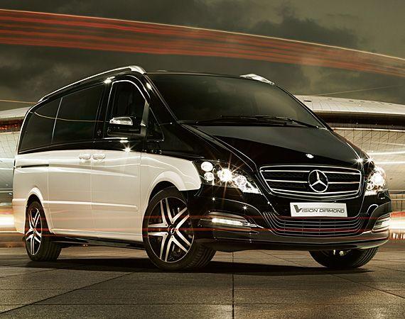Mercedes-Benz Viano Vision Diamond – Luxury Van
