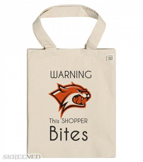 Warning this Shopper Bites - ECO Tote bag