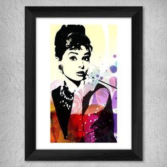 Audrey Hepburn Çerçeveli Tablo