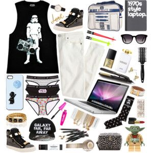 "I love THISISLETTIE's ""Galaxy Far, Far Away"" outfit."