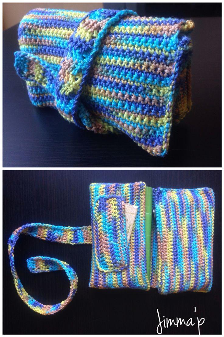 Portatabacco crochet