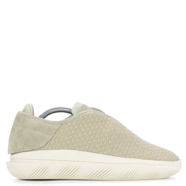 Clear Weather Convx in Elm side view a futuristic take on an Athletic  inspired low top. With an woven upper, ultra soft cup sole, and a internal  ne…