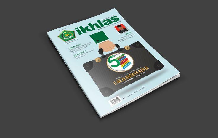 Magazine design kemenag kutai timur