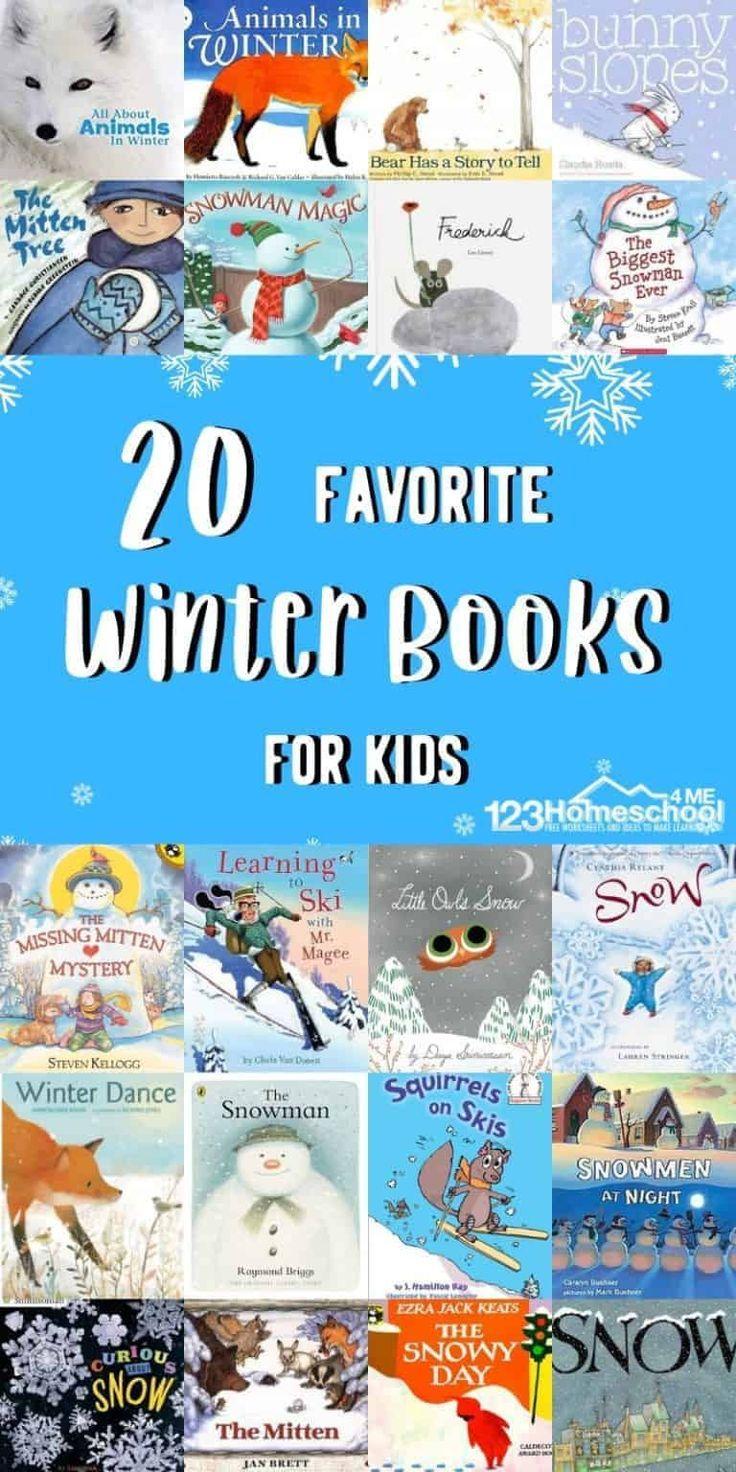 12 Favorite Winter Picture Books   Kindergarten books, Winter ...