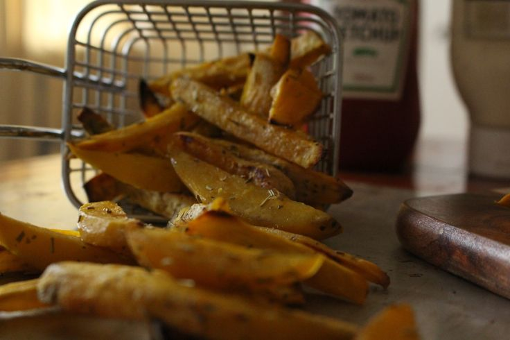 These kumara chips (sweet potato fries) are out of this world. They're sweet and tasty and go so well with a burger or even as a snack!
