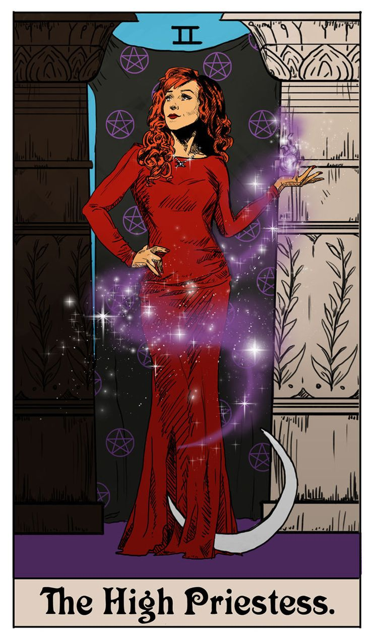 Britaneeleeannart Spn Tarot Card Of The Day Is Rowena As