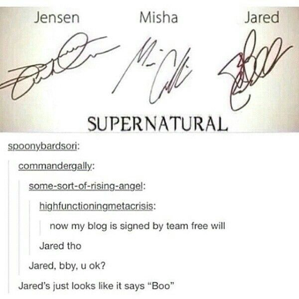 Their signatures match their personalities tbh