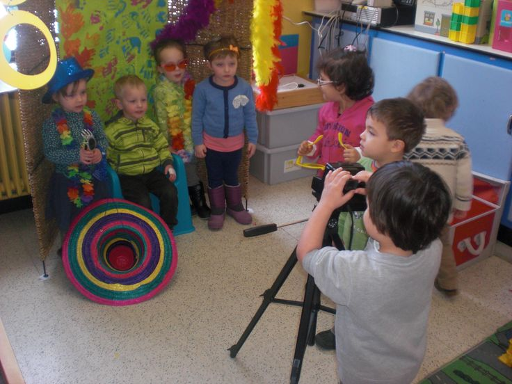 Fotostudio in de klas