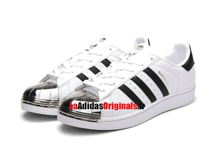 Adidas Originals Superstar Metal Toe W - Chaussure Pas Cher Pour Homme/Femme Blanc/Noir/Argent BB5114-Boutique Adidas Originals de Running (FR) - LaAdidasOriginals.fr
