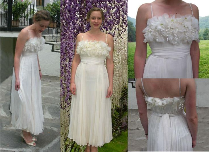 Sewing BERNINA Lily Of The Valley Wedding Dress
