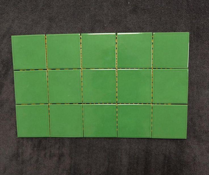 Mosaik Villeroy & Boch 3200 FG15 grün glänzend 30x50 cm I. Sorte Restposten in Heimwerker, Bodenbeläge & Fliesen, Fliesen | eBay