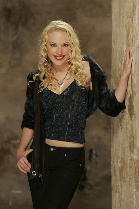 """Adrienne Frantz stars as Amber Moore on """"The Young and the Restless."""""""