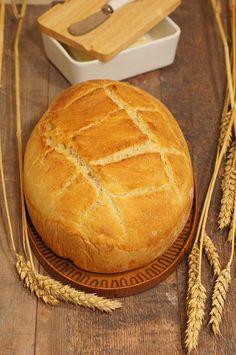 Thermomix przepisy. Chleb pszenny pieczony w garnku.