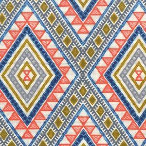 Tissu Michael Miller - Thomas Paul Collection - Multi Moroc x10cm : Tissu en coton, collection Thomas Paul pour Michael Miller. Motif azulejos, carreau ciment.
