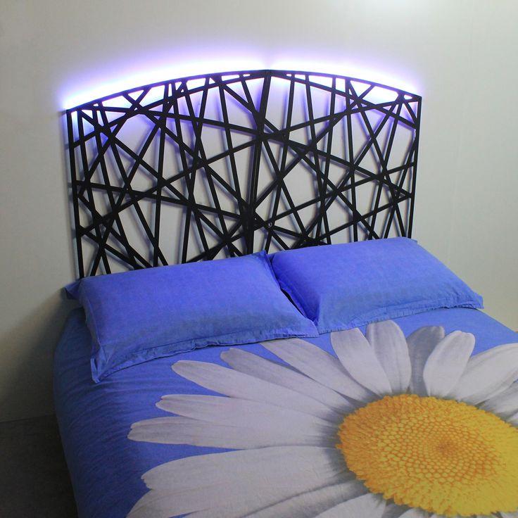 Testate letto, testiere per letto matrimoniale dal design moderno ...