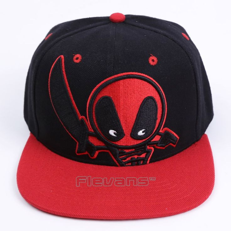 2017 New Fashion Deadpool Baseball Cap Hip Hop Snapback Cartoon Caps for Men Women Summer Unisex Adult Hat #Affiliate