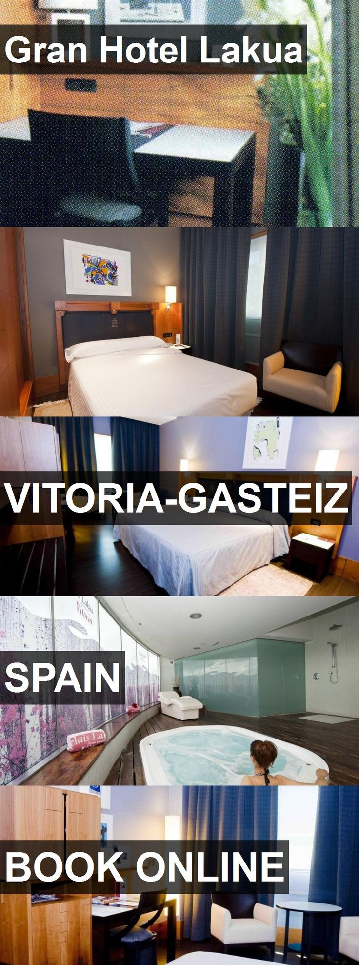 Gran Hotel Lakua in Vitoria-Gasteiz, Spain. For more information, photos, reviews and best prices please follow the link. #Spain #Vitoria-Gasteiz #travel #vacation #hotel