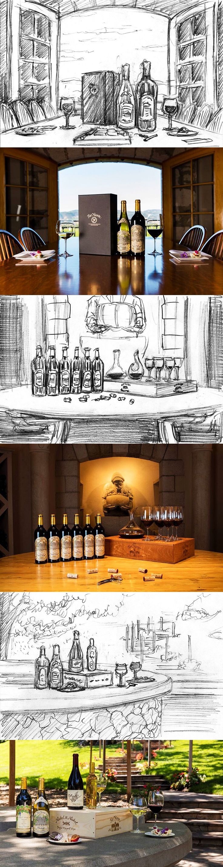 Far Niente Winery   Art direction for product photography   by designthis!