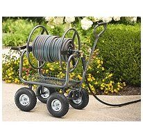 Pin it :-) Follow us :-)) zGardensupply.com is your Garden Supply Gallery ;) CLICK IMAGE TWICE for Pricing and Info :) SEE A LARGER SELECTION of hose carts at  http://zgardensupply.com/category/garden-supply-categories/watering-equipment/hose-carts/ - garden, gardening, gardening gear, garden tools  -   Hose Reel Cart Capable of holding up to 300 ft. of 5/8″ garden hose « zGardenSupply