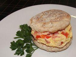 Rise & shine breakfast sandwich