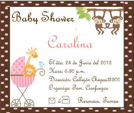 Captivating Invitaciónes Con Frases Para Baby Shower De Niño   Imagui