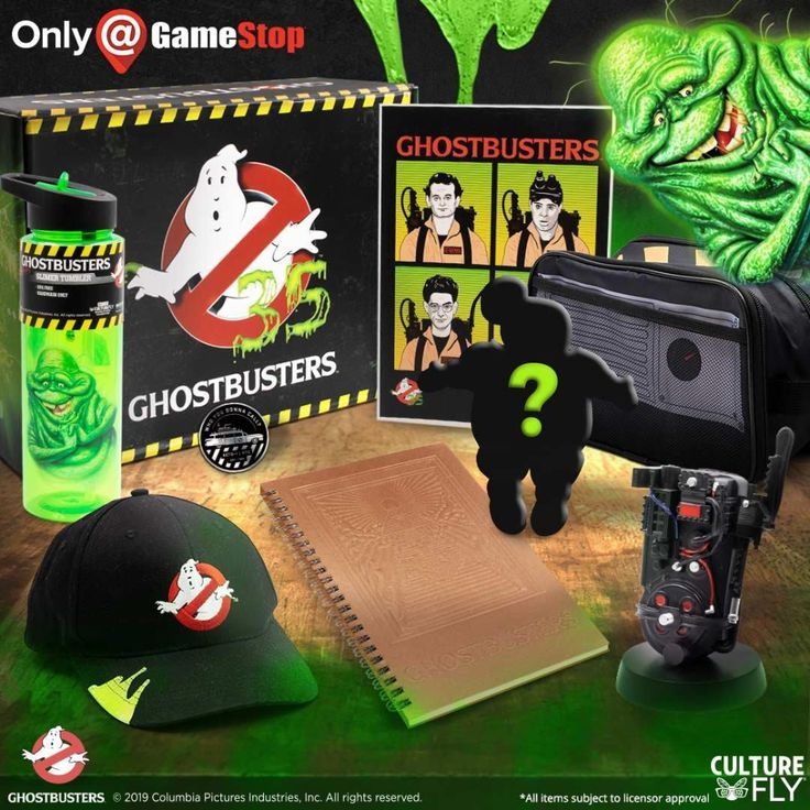 Ghostbusters 35th Anniversary Collector's Box Only (With